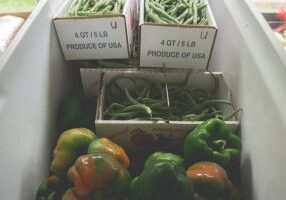 Boxes of Produce